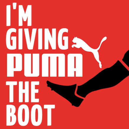 I'm  Giving PUMA The BOOT